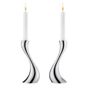 Cobra Candlestick Holders 2 Pcs from Georg Jensen